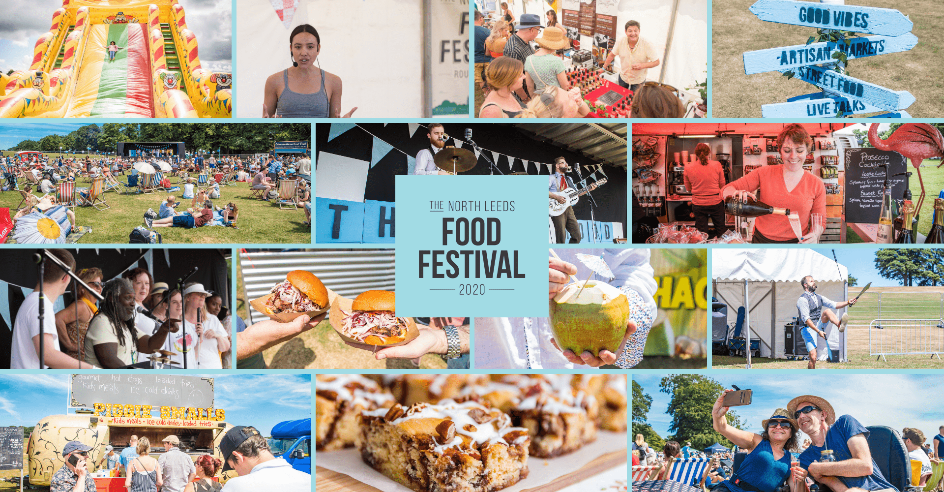 Leeds Food Festival Header